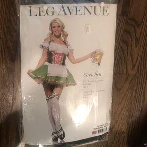 "Leg Avenue ""Gretchen"" (beer wench) Costume"